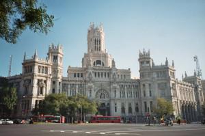 Praça Cibeles, Madrid, Espanha